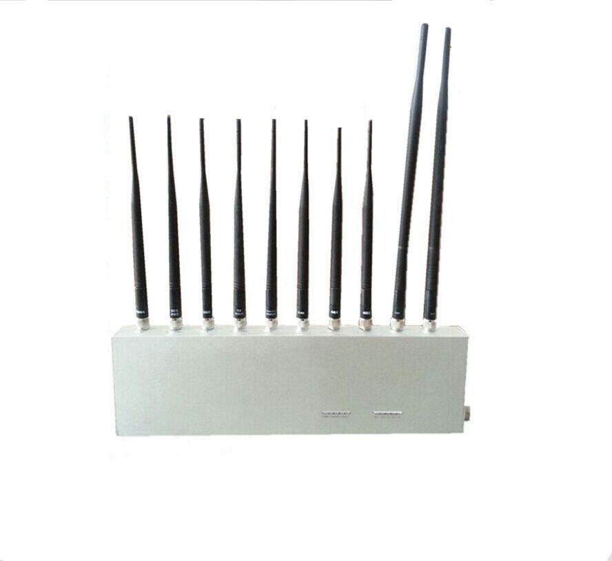 3G 4G GPS WiFi UHF VHF All Signal Jammer