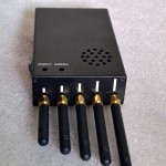 CTS-3W Portable 3G Cellphone Jammer & WiFi Jammer & UHF Jammer 2