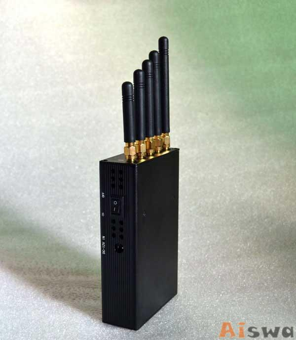 CTS-3W Portable 3G Cellphone Jammer & WiFi Jammer & UHF Jammer 3