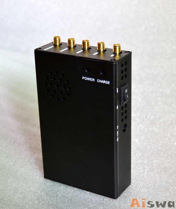 CTS-3W Portable 3G Cellphone Jammer & WiFi Jammer & UHF Jammer 4