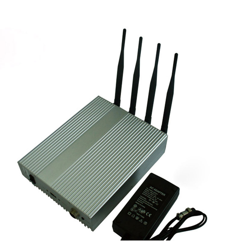Powerful 4W All 2.4GHz WiFI Signal Jammer
