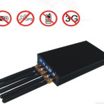 Portable GPS L1 & Cell phone & WI-Fi Jammer with 5 Antennas 2