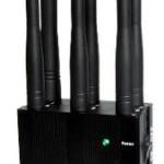BLOQUEADOR 6 ANTENAS PROFISSIONAL LOJACK+GSM+GPSL1+GPSL2+GPSL5+3G+WIFI+BLUETHOT ALCANCE 25m