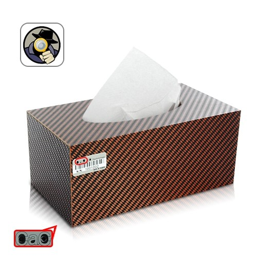 Tissue Box Spy Camera