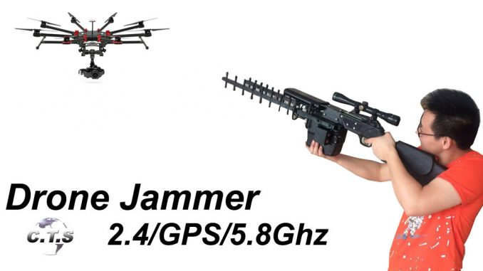2016 drone jammer CTS